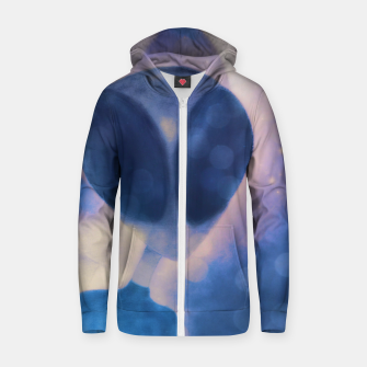 Miniatur Reflections through space and time Zip up hoodie, Live Heroes