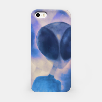 Miniatur Reflections through space and time iPhone Case, Live Heroes