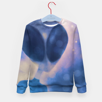 Miniatur Reflections through space and time Kid's sweater, Live Heroes