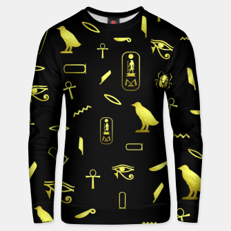 Thumbnail image of Hieroglyphs Unisex sweater, Live Heroes
