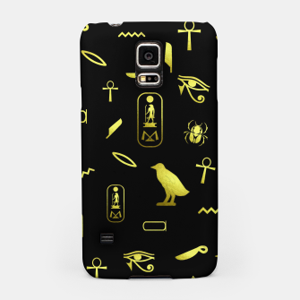 Thumbnail image of Hieroglyphs Samsung Case, Live Heroes