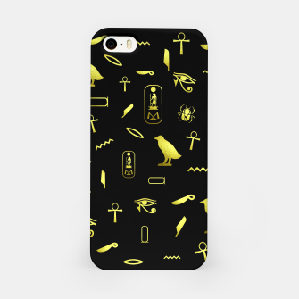Thumbnail image of Hieroglyphs iPhone Case, Live Heroes