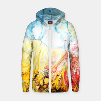 Thumbnail image of Daylight Zip up hoodie, Live Heroes