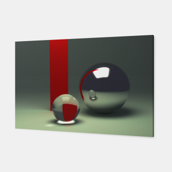 Miniaturka Ray traced abstract composition Canvas, Live Heroes