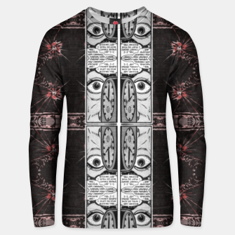 Thumbnail image of hypnotic (simplex collection) Unisex sweater, Live Heroes