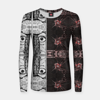 Thumbnail image of hypnotic (simplex collection) Women sweater, Live Heroes