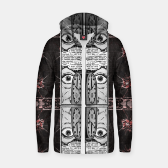 Thumbnail image of hypnotic (simplex collection) Zip up hoodie, Live Heroes