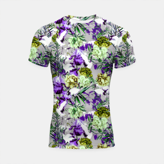 Thumbnail image of Abstract asian fantasy Shortsleeve rashguard, Live Heroes