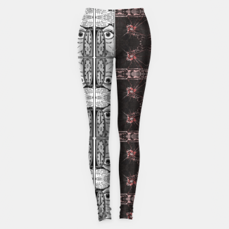 Thumbnail image of hypnotic (simplex collection) Leggings, Live Heroes