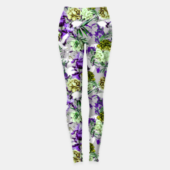 Thumbnail image of Abstract asian fantasy Leggings, Live Heroes