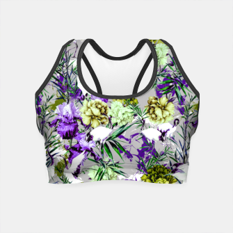 Thumbnail image of Abstract asian fantasy Crop Top, Live Heroes