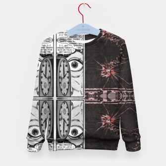 Thumbnail image of hypnotic (simplex collection) Kid's sweater, Live Heroes