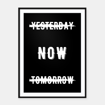 Thumbnail image of Inspiration - Do it Now! Framed poster, Live Heroes
