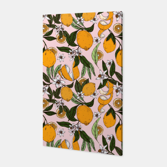 Thumbnail image of Succulent sweets oranges Canvas, Live Heroes