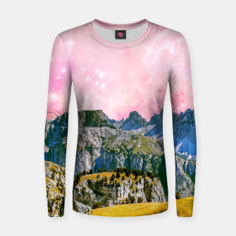 Thumbnail image of Fantasy Land Women sweater, Live Heroes