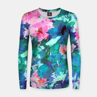 Thumbnail image of Blossomed Garden Women sweater, Live Heroes