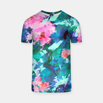 Thumbnail image of Blossomed Garden T-shirt, Live Heroes