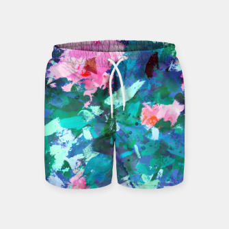 Thumbnail image of Blossomed Garden Swim Shorts, Live Heroes