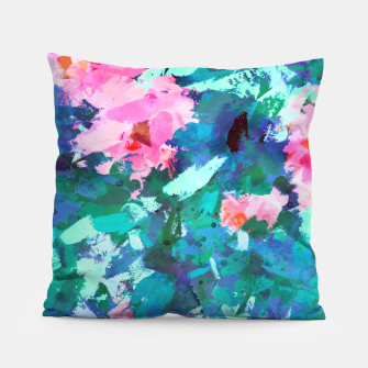 Thumbnail image of Blossomed Garden Pillow, Live Heroes