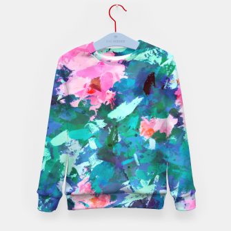 Thumbnail image of Blossomed Garden Kid's sweater, Live Heroes