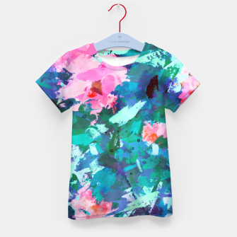 Thumbnail image of Blossomed Garden Kid's t-shirt, Live Heroes