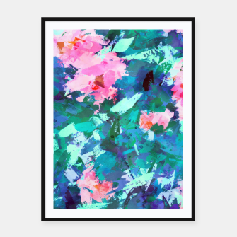 Thumbnail image of Blossomed Garden Framed poster, Live Heroes