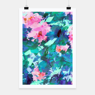 Thumbnail image of Blossomed Garden Poster, Live Heroes