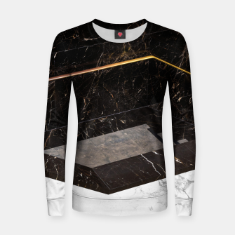 Thumbnail image of Marble Paradox Women sweater, Live Heroes