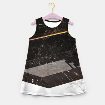 Thumbnail image of Marble Paradox Girl's summer dress, Live Heroes