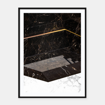 Thumbnail image of Marble Paradox Framed poster, Live Heroes