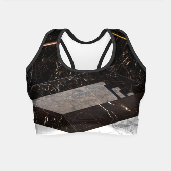 Thumbnail image of Marble Paradox Crop Top, Live Heroes