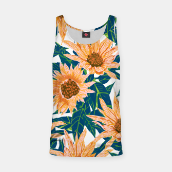Thumbnail image of Blush Sunflowers Tank Top, Live Heroes