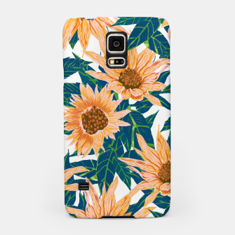 Thumbnail image of Blush Sunflowers Samsung Case, Live Heroes