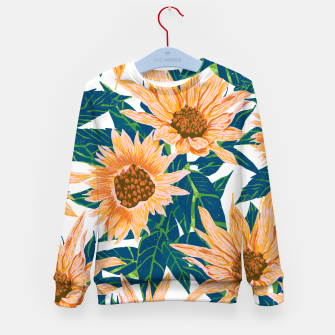 Thumbnail image of Blush Sunflowers Kid's sweater, Live Heroes