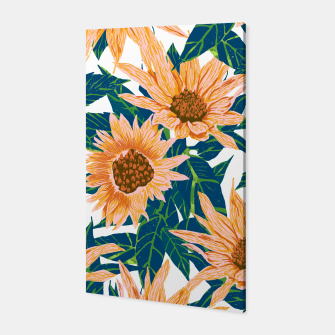 Thumbnail image of Blush Sunflowers Canvas, Live Heroes