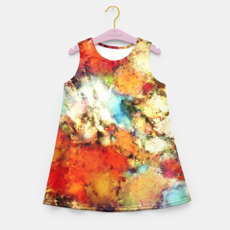 Thumbnail image of Red resistor Girl's summer dress, Live Heroes