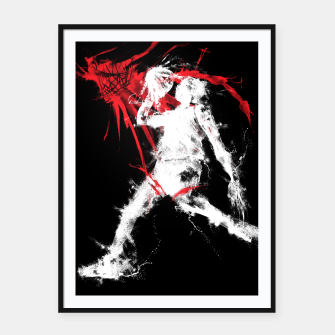 Thumbnail image of MJ23 Framed poster, Live Heroes