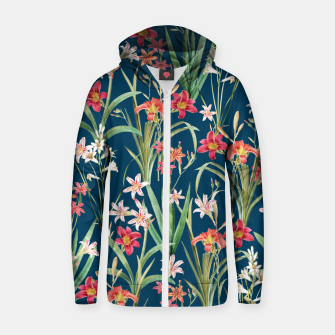 Blossom Botanical Zip up hoodie thumbnail image