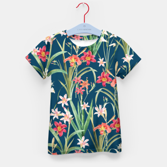 Thumbnail image of Blossom Botanical Kid's t-shirt, Live Heroes