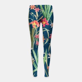 Thumbnail image of Blossom Botanical Girl's leggings, Live Heroes