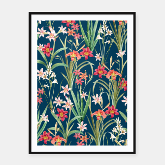 Thumbnail image of Blossom Botanical Framed poster, Live Heroes