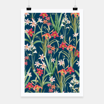 Thumbnail image of Blossom Botanical Poster, Live Heroes