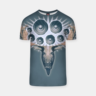 Thumbnail image of Music Moose (Head only) T-Shirt, Live Heroes