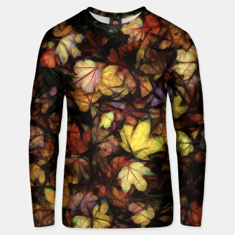 Thumbnail image of Late October Leaves Unisex sweater, Live Heroes