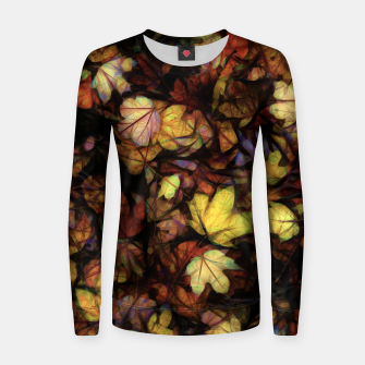 Thumbnail image of Late October Leaves Women sweater, Live Heroes