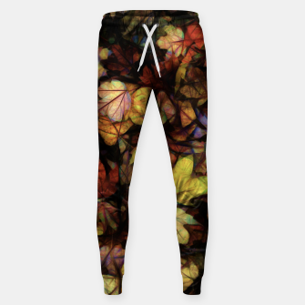 Thumbnail image of Late October Leaves Sweatpants, Live Heroes
