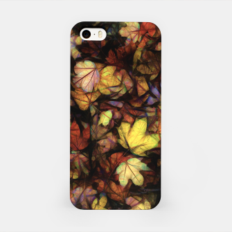 Thumbnail image of Late October Leaves iPhone Case, Live Heroes