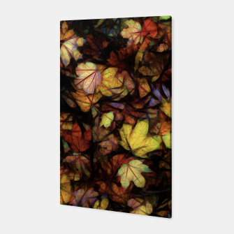 Thumbnail image of Late October Leaves Canvas, Live Heroes