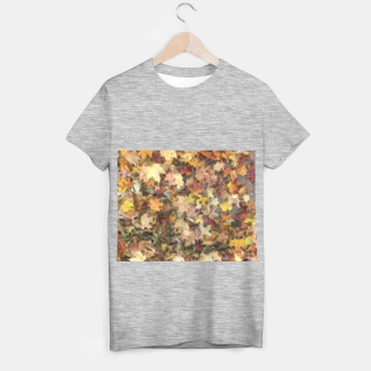 Thumbnail image of Late October Leaves Light T-shirt regular, Live Heroes