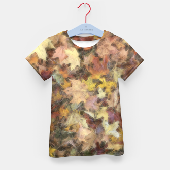Thumbnail image of Late October Leaves Light Kid's t-shirt, Live Heroes